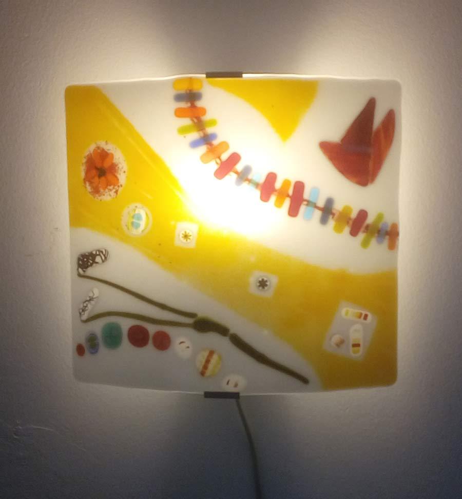 Wandlamp-Sporen